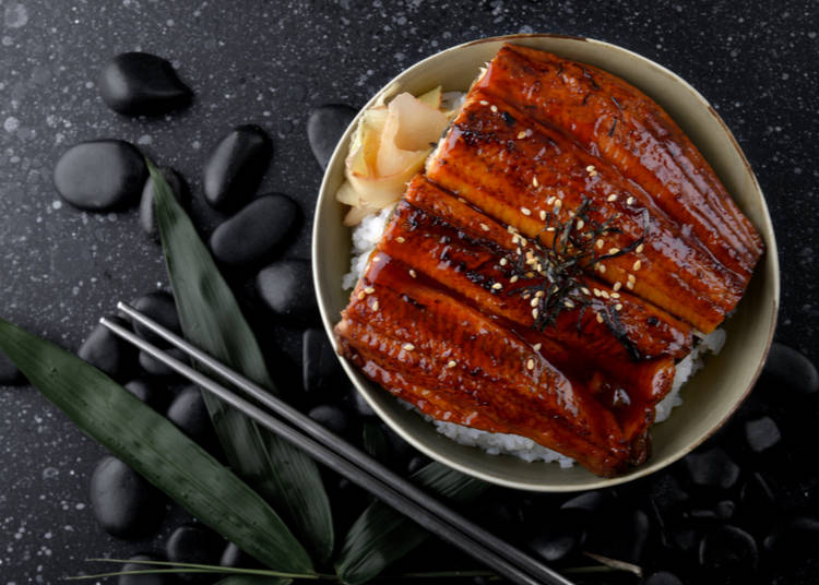 4. Eel: When you just want a bite of savory 'cooked sushi'
