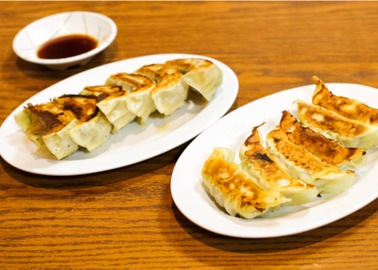 8. Gyoza:  For those looking for a quick flavor-packing snack