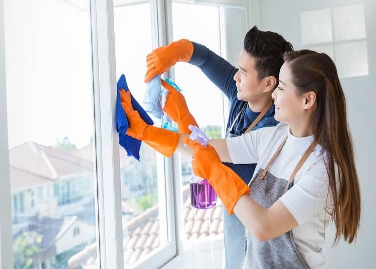 집안 일은시간적 여유가 많은 사람이VS 집안 일은 함께 하는 것