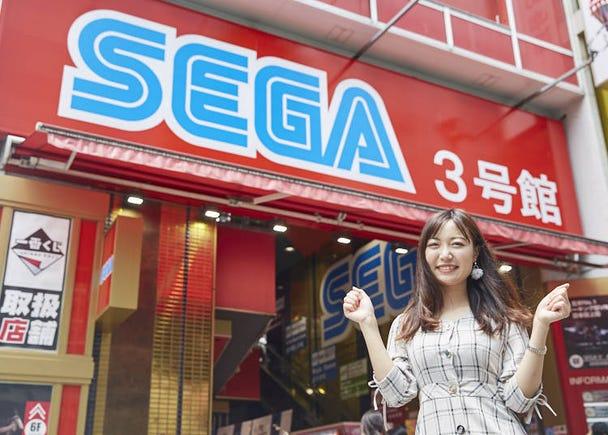 ■중국인 여성, 아키하바라 SEGA 3호관을 찾다!