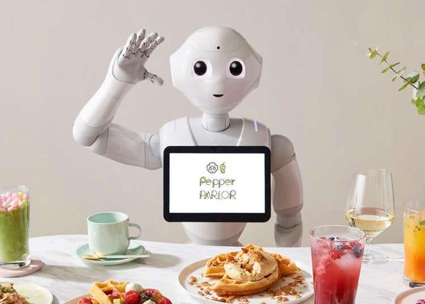 ロボットがいるカフェ「Pepper PARLOR」、12月開業「東急プラザ渋谷」にオープン