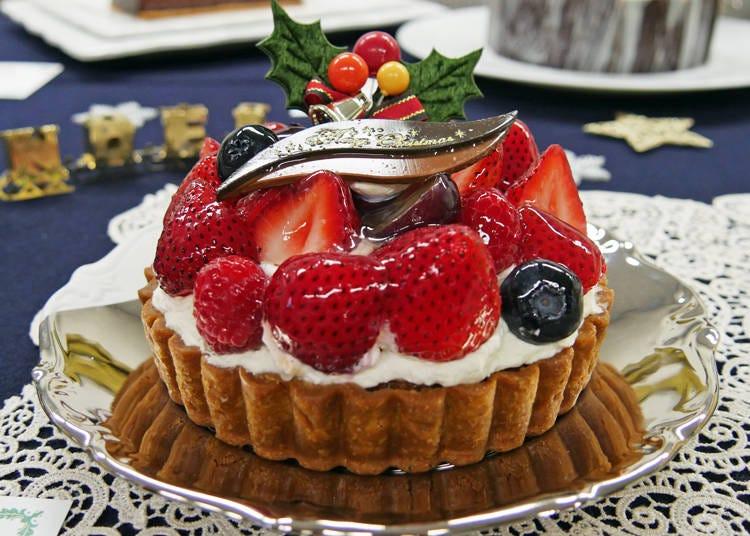 【トレンド1】タルト系ケーキの人気が上昇中