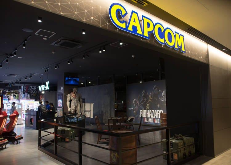 【Q plaza池袋推薦店家③】可實際體驗「BIOHAZARD VALIANT RAID」恐怖VR遊戲的「Plaza Capcom池袋店」