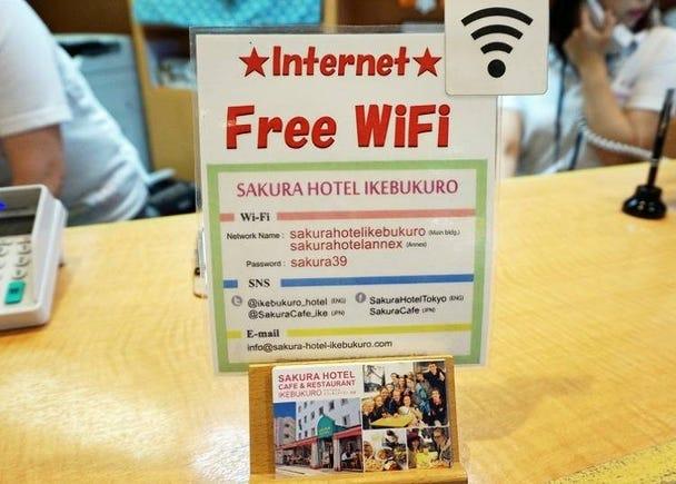 外国人ゲストにうれしい各種サービス! WiFi・ハラルラーメン・食べ放題ありの朝食付きプラン