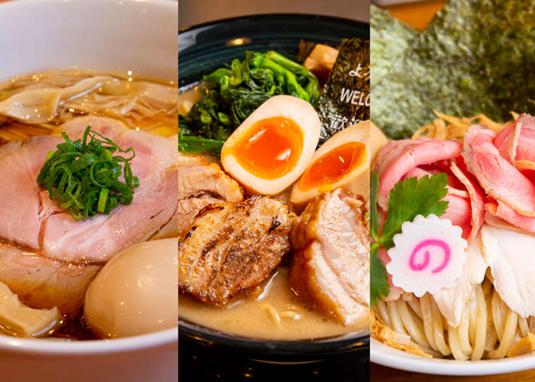 Clash of the Noodles! 3 MUST EAT Ramen Shops Near Tokyo's Ikebukuro station