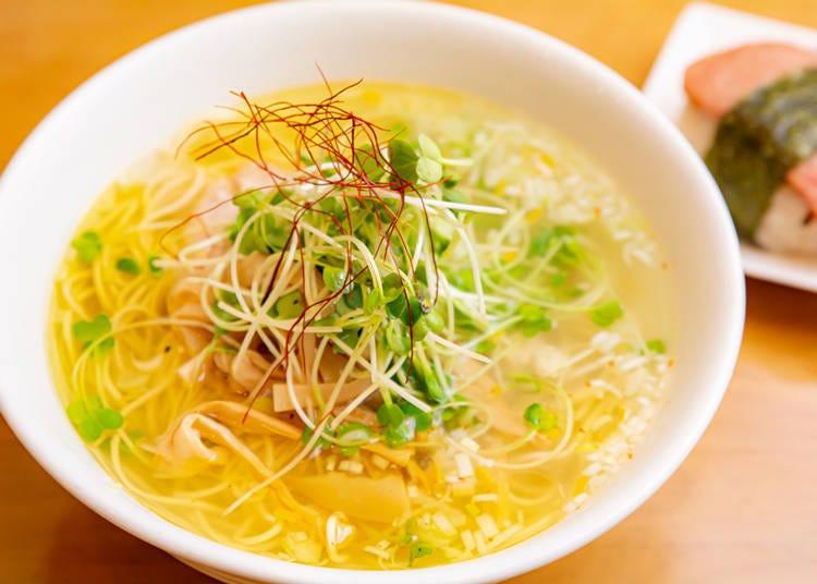 池袋西口拉麵③金黃澄澈的絕品鹽味拉麵「Hulu-lu」