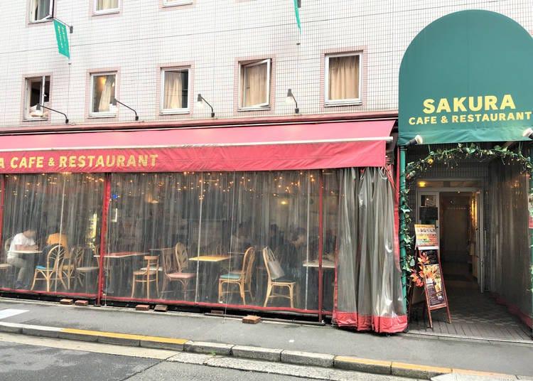 2. 不是饭店住客也能利用的「Sakura Cafe & Restaurant池袋」