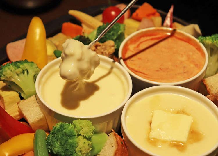 10種のチーズフォンデュが食べ放題! サラダバーも付いてお得な池袋ランチ「the life table」