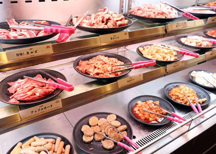 10种肉品、面食、甜点都无限吃!中午只要1600日元的池袋自助吧烧肉「喰喰」