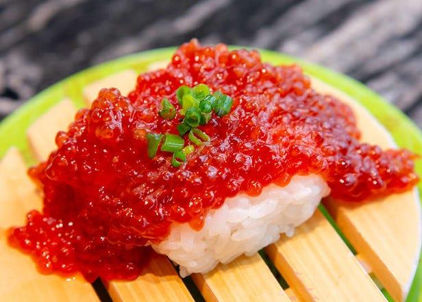 在东京也能吃到北海道正宗海鲜! TOKYU PLAZA银座必吃「根室花丸回转寿司」