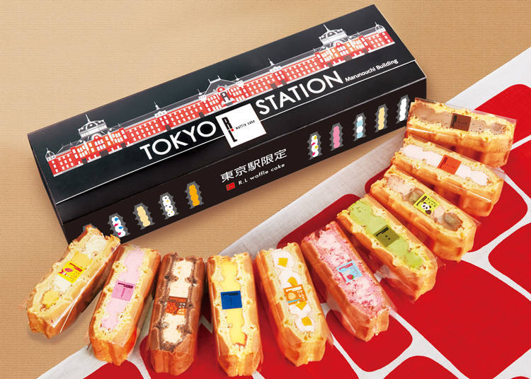 5. R.L Waffle Cake Shop Tokyo Station Limited Edition Waffle Set of 10