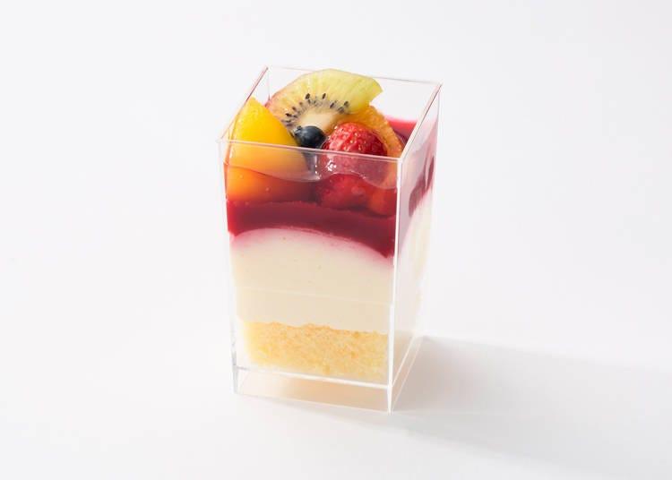 9. Kyobashi Senbikiya Fruit Bavarois