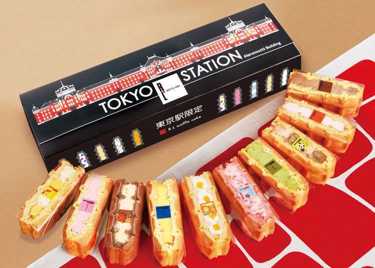 5. 东京车站限定松饼(ワッフル)10入盒装/R.L. waffle cake