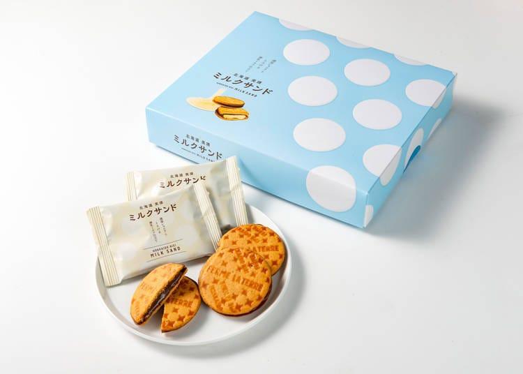 6. 牛奶夹心饼干MILK SAND(ミルクサンド)/La Terre