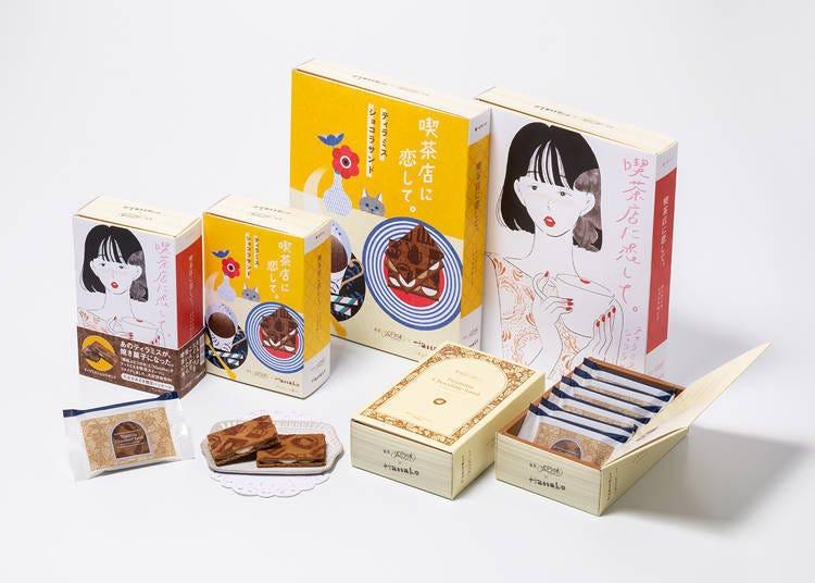 11. 提拉米苏巧克力夹心饼干(ティラミスショコラサンド) /喫茶店に恋して。