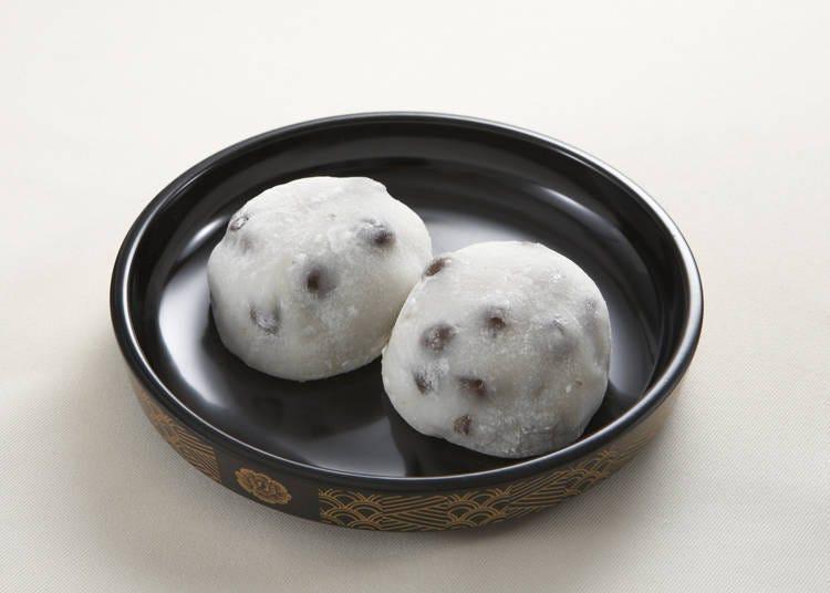 日式點心伴手禮① 豆大福/銀座甘樂