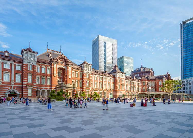 จะไปครั้งแรกหรือเคยไปมาแล้วก็ต้องอ่าน! แนะนำ 30สถานที่ท่องเที่ยว, ของกิน, ชอปปิงย่านมารุโนะอุจิ, พระราชวัง และสถานีโตเกียว