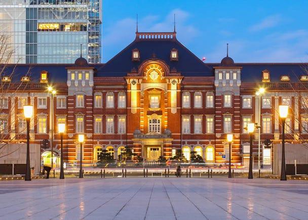 電車に乗らなくても訪れる価値のある【東京駅】