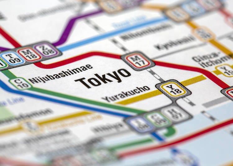 การเดินทางมายังสถานีโตเกียว