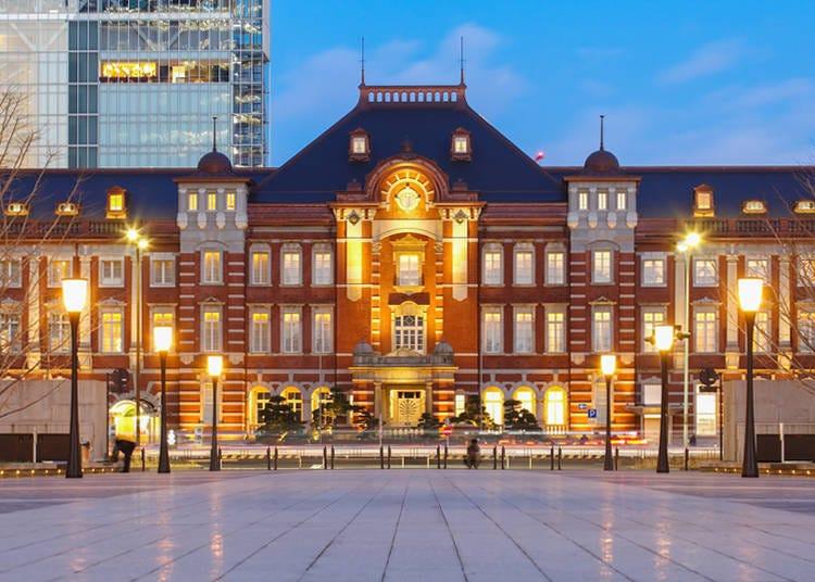 【東京車站】不搭電車也一定要來走走、賞夜景!