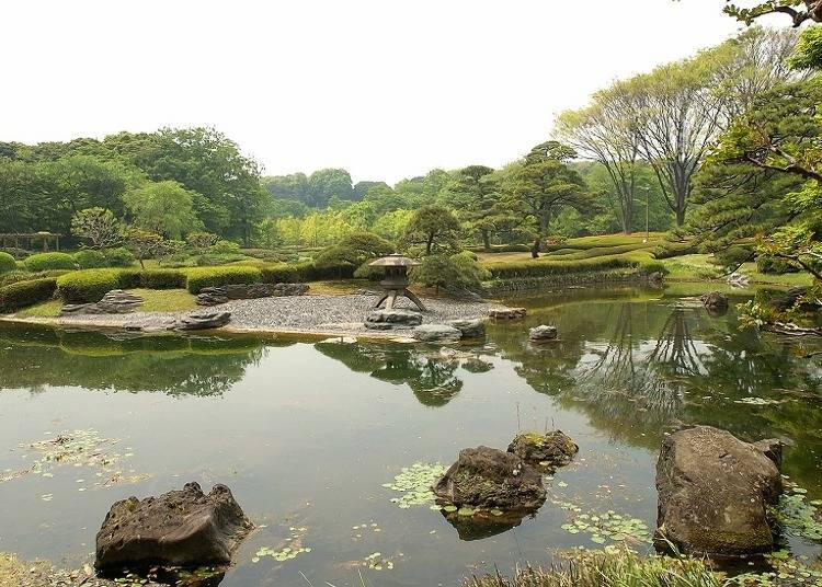 Ninomaru Gardens, where you can enjoy nature to the fullest