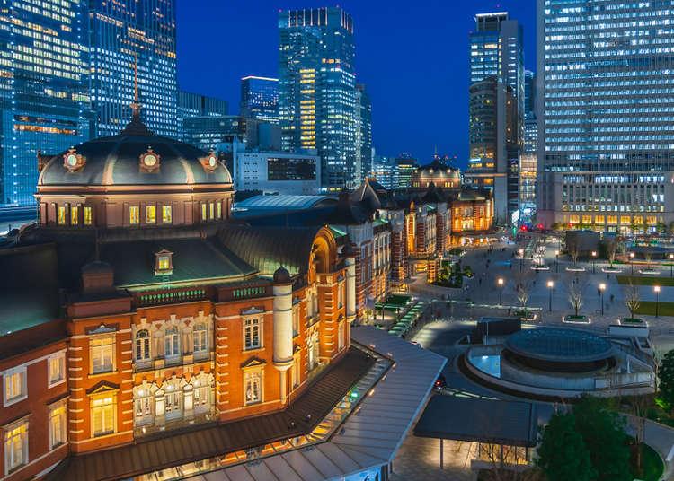 東京旅遊住宿推薦!東京車站人氣夜景飯店3選