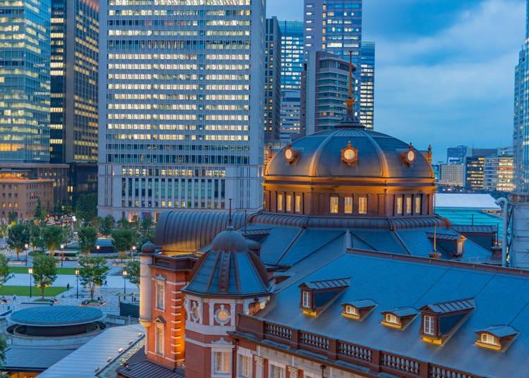 環境及位置都堪稱數一數二的東京車站周邊飯店