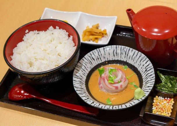 3. Sushi Sei: Fine fish chazuke, a local breakfast favorite