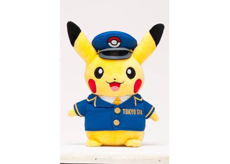 1. Stationmaster Pikachu Pokemon Store Tokyo Station Shop Uniform ver. (1,790 yen including tax)