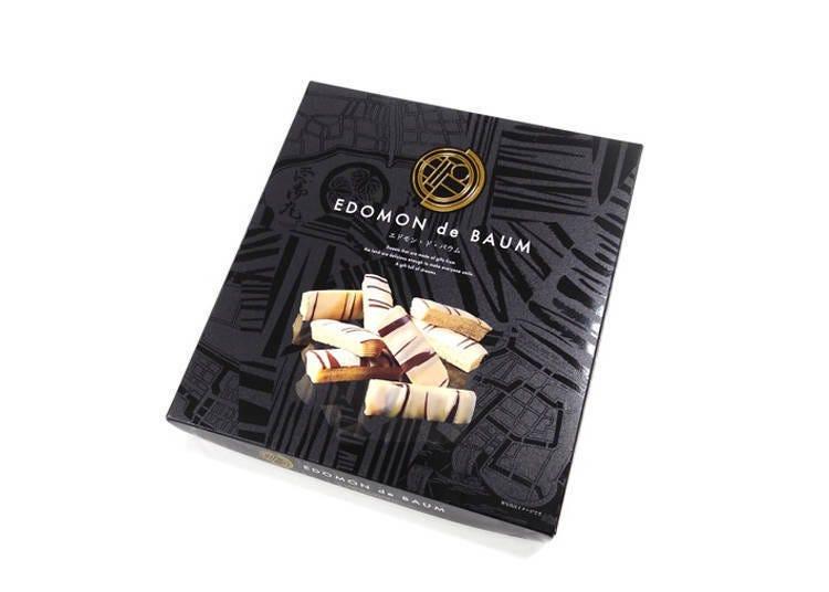 4.江户世界年轮蛋糕EDOM de BAUM(エドモンドバウム)-10条装-(含税1296日元)