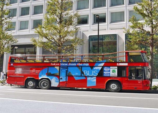 【自由行必看】东京市区双层观光巴士「SKY BUS」购票、搭乘方式&乘车心得一篇全解