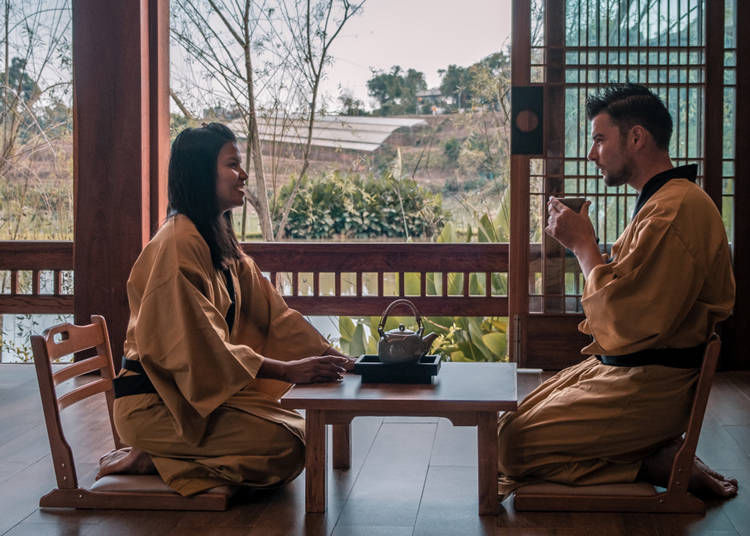 2. What trouble did you have when you were staying in a ryokan? Any advice?