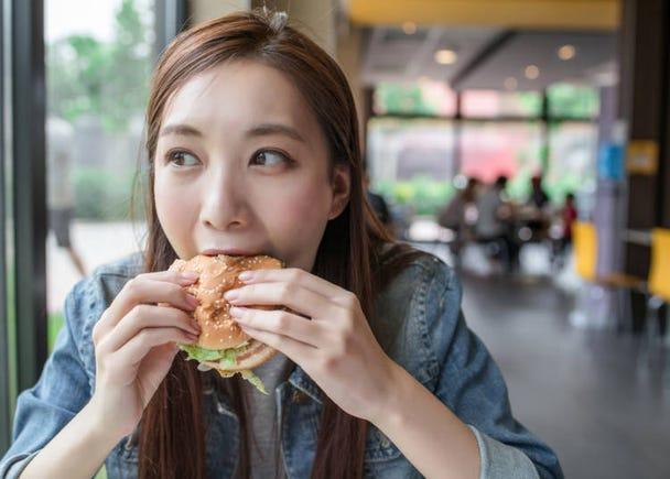 日本留學生的娛樂消遣②連鎖速食店