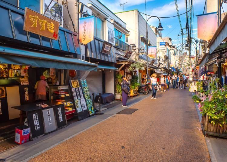 또 하나의 인기 지역 시타마치'야・네・센(谷・根・千駄木)'