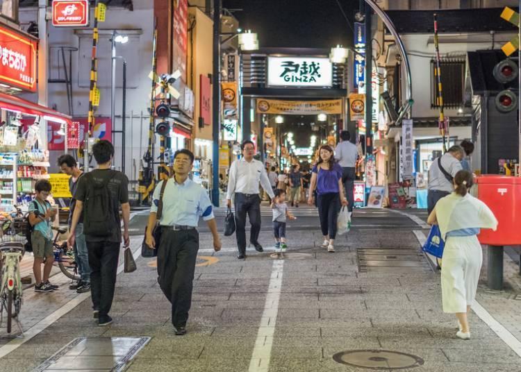 일본인이 생활이 엿보이는 '도고시긴자(戸越銀座)'