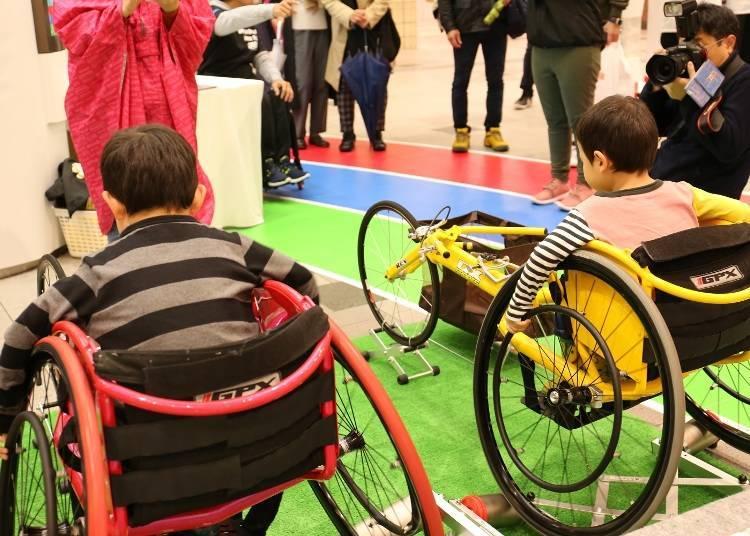 Raising awareness of para sports