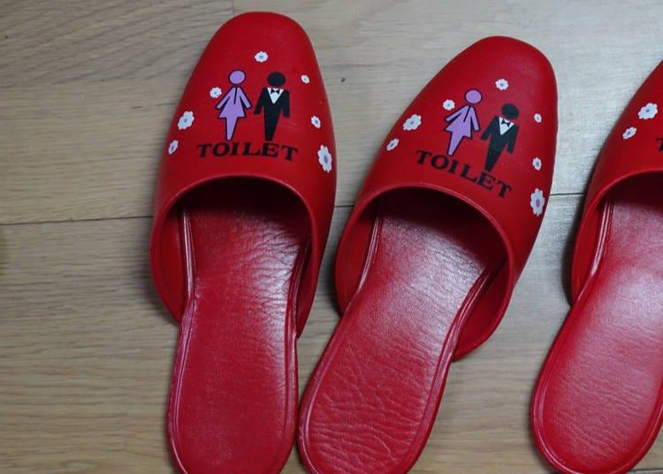 2. Bathroom slippers