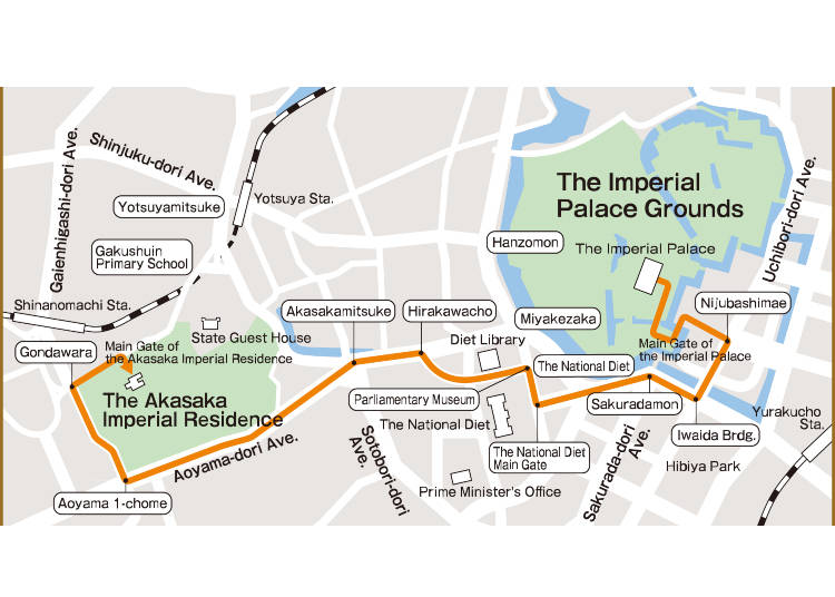 The Imperial Procession Route