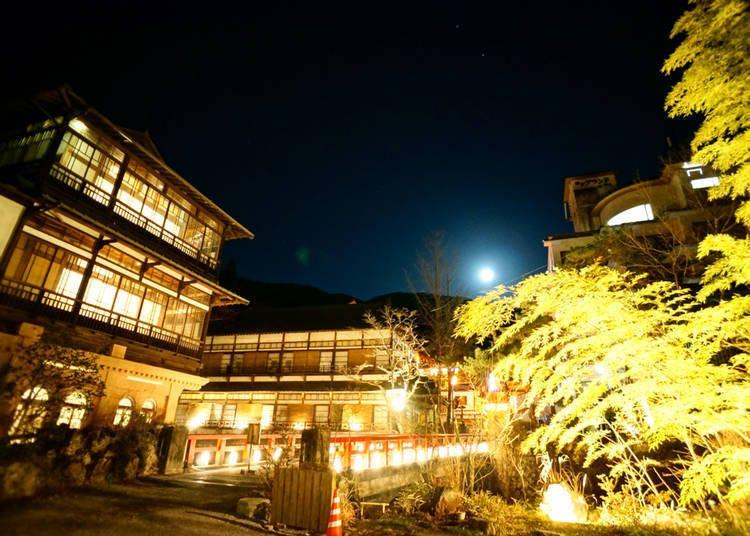 除了箱根外喜欢的温泉地点还有?