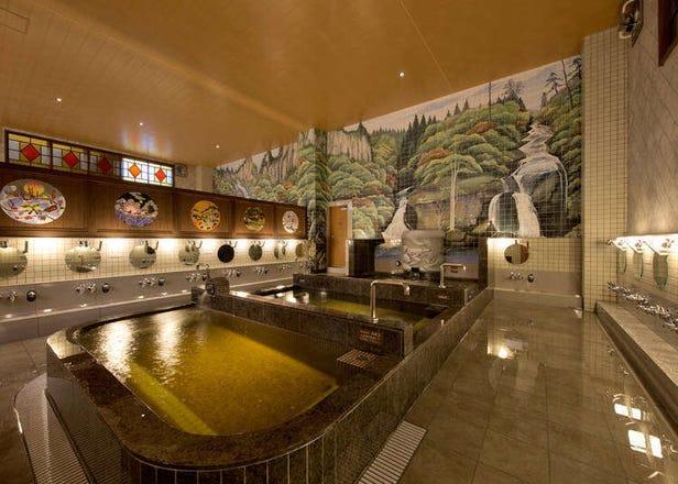 有刺青也可以泡湯!東京市區帶著刺青也可以入內泡湯的大眾澡堂3選