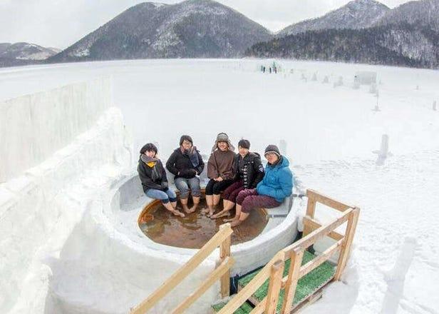 啤酒、葡萄酒也能变温泉?在冰上泡温泉?让人超想亲自走访的日本特殊温泉设施6选