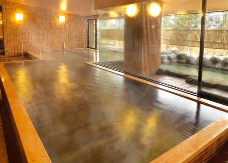 1. Oedo Onsen Monogatari Atami: Popular hot spring leisure spot just a 7-minute walk from the station