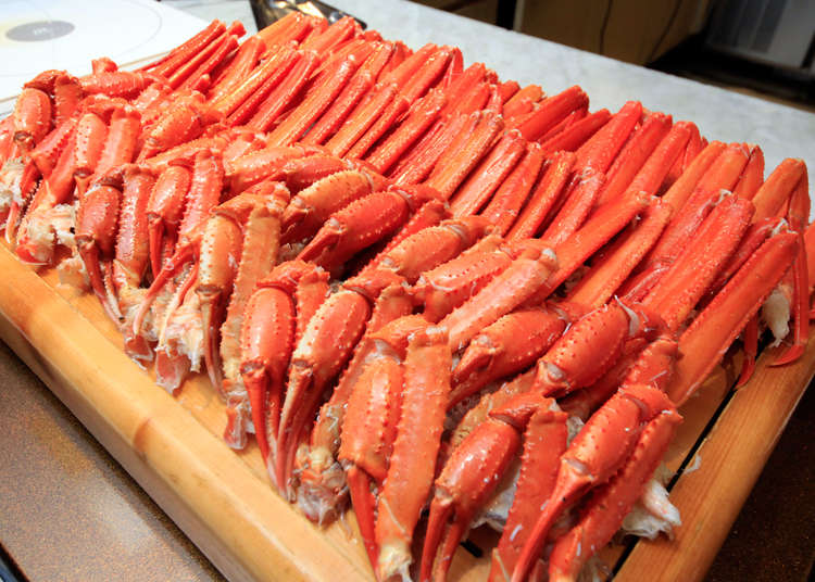 Winter Japan Trips: Perfect Accommodations and All-you-can-eat Crab Buffets only 90 Minutes from Tokyo!