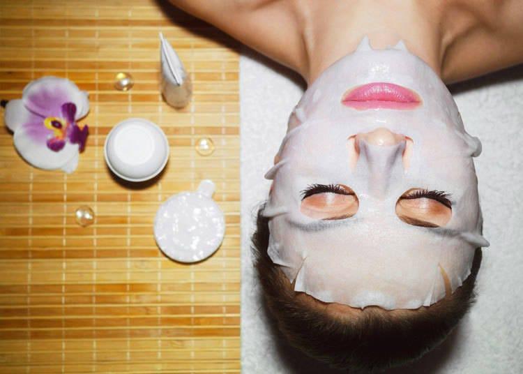 Onsen face masks, another gensen kakenagashi specialty