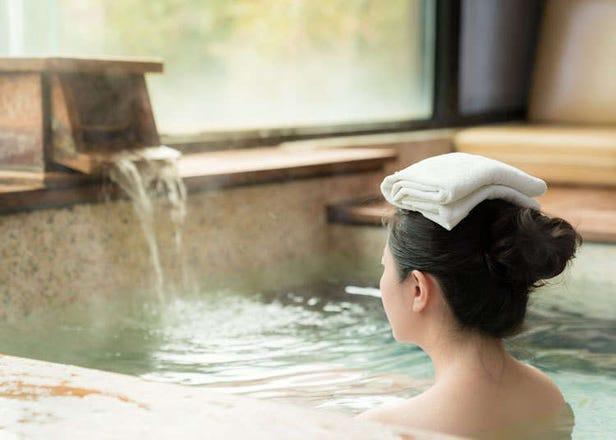 日本温泉美容专家教你!旅游中泡温泉也能实践的温泉美容法