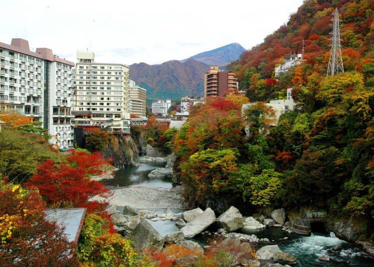 3. Kinugawa Onsen (Future Diary): Located near a popular place of interest Nikko