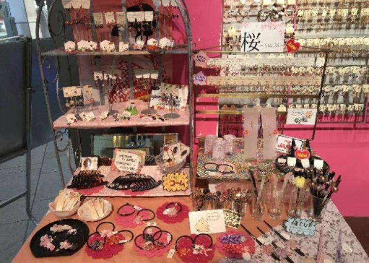7. OSEWAYA Harajuku: Lots of cute little accessories!