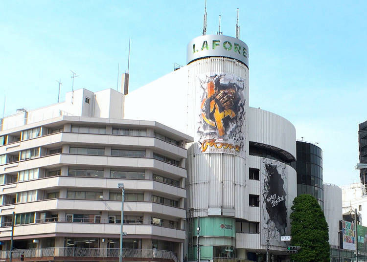 10. Laforet Harajuku: The latest trends from fashion to art