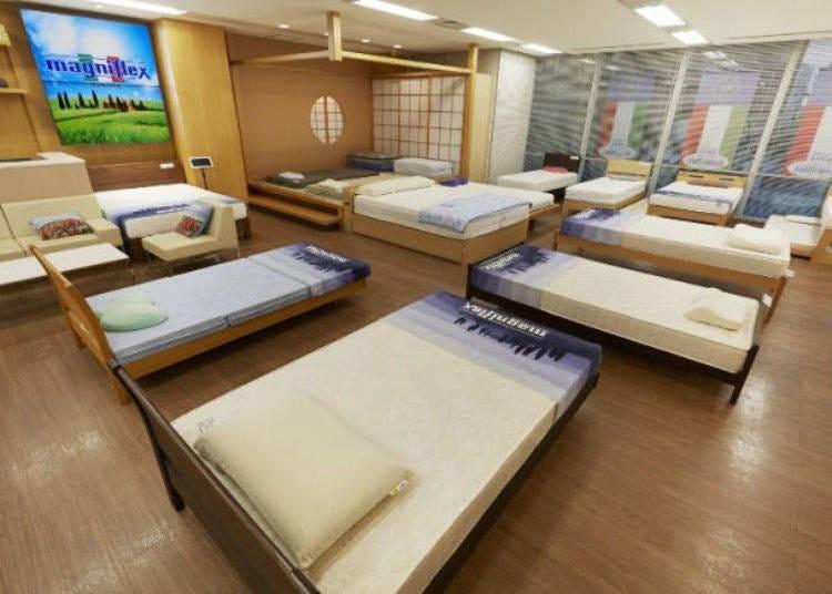 20. Maniflex Omotesando Showroom: Prestigious mattress brand loved all over the world!