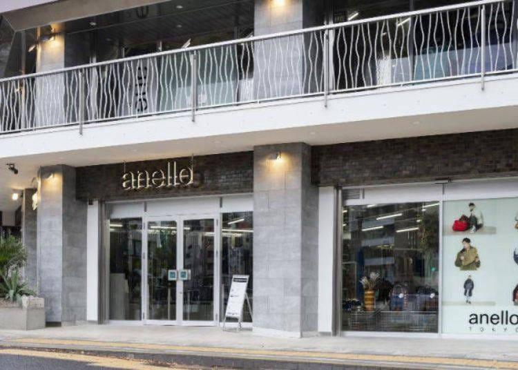 2. 人気ブランドの東京1号店「anello® TOKYO(アネロ トウキョウ)」
